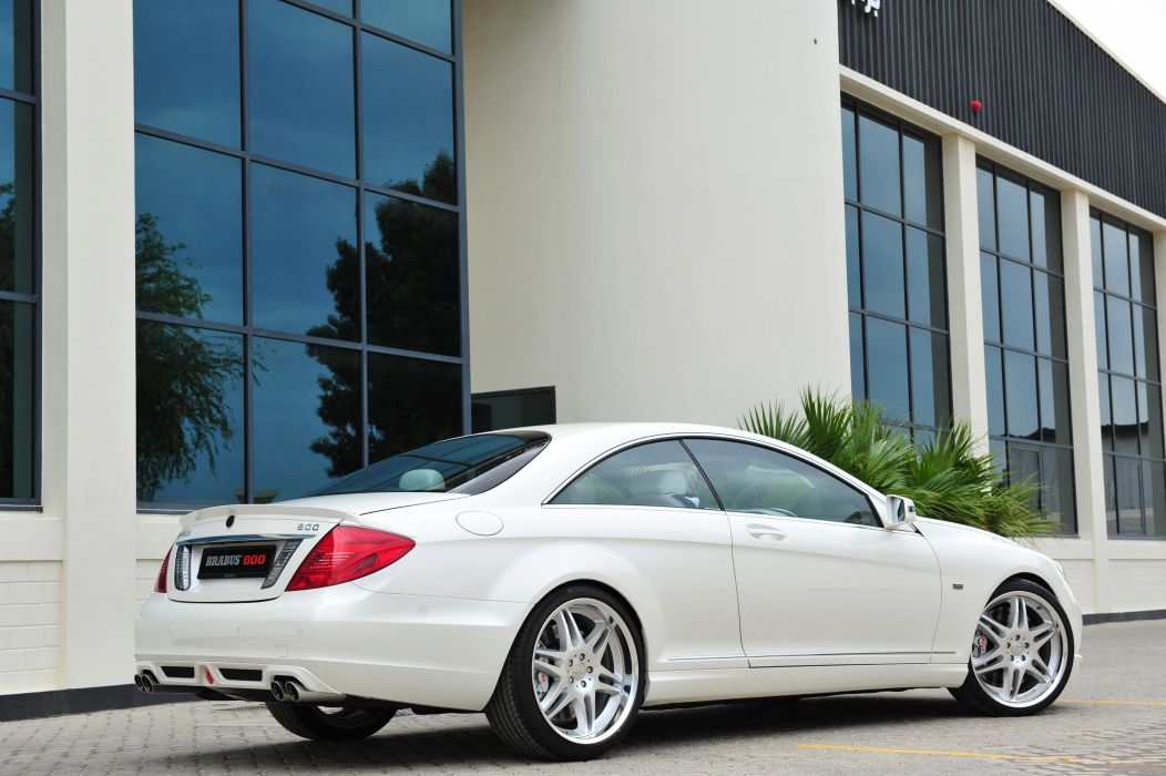 2011 BRABUS Mercedes Benz 800 Coupe tuning e wallpaper