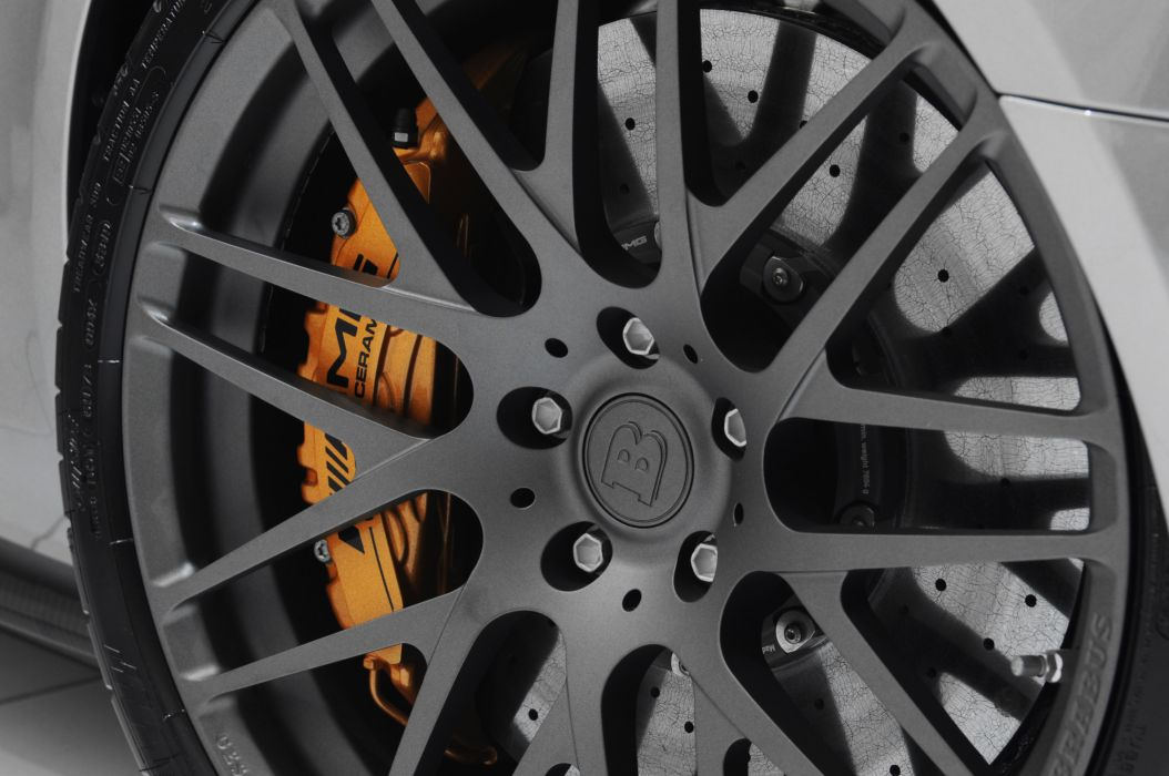 2011 BRABUS Mercedes SLS AMG tuning wheel wheels wallpaper