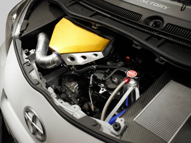 2011 Evasive Toyota Scion i-Q tuning race racing engine engines wallpaper