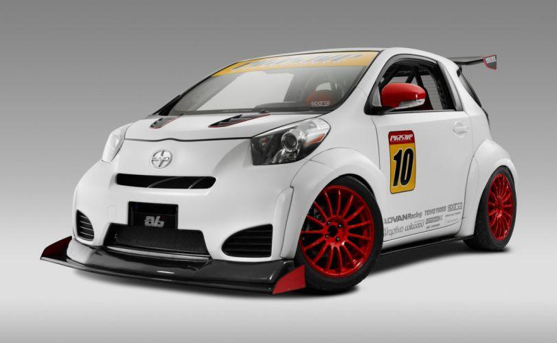 2011 Evasive Toyota Scion i-Q tuning race racing wallpaper