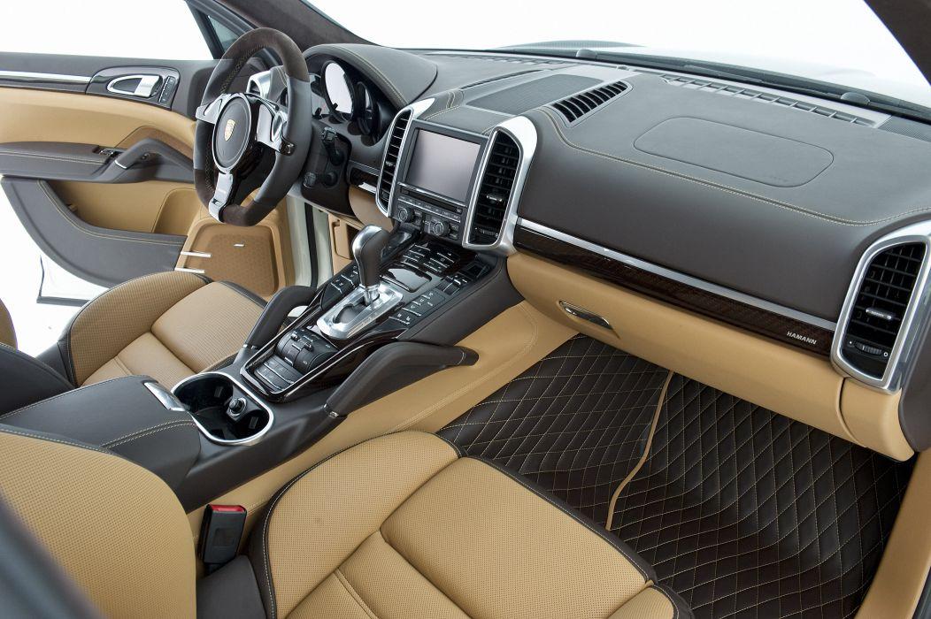 2011 Hamann Guardian Evo Porsche Cayenne tuning interior wallpaper