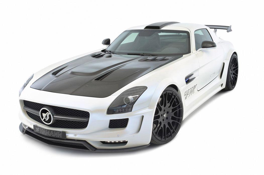 2011 Hamann Mercedes SLS AMG supercar supercars tuning r wallpaper