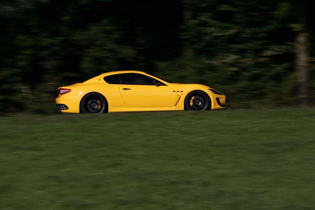 2011 Novitec-Tridente Maserati GranTurismo M-C Stradale tuning supercar supercars    r wallpaper