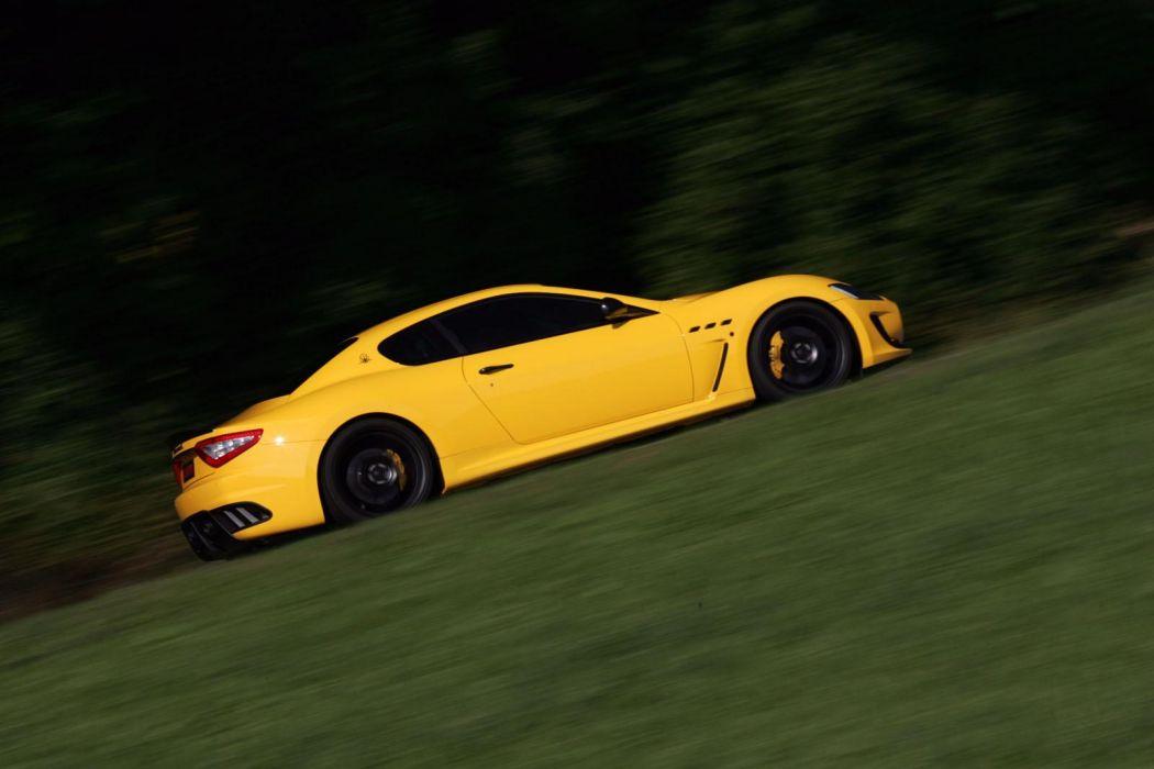 2011 Novitec-Tridente Maserati GranTurismo M-C Stradale tuning supercar supercars s wallpaper