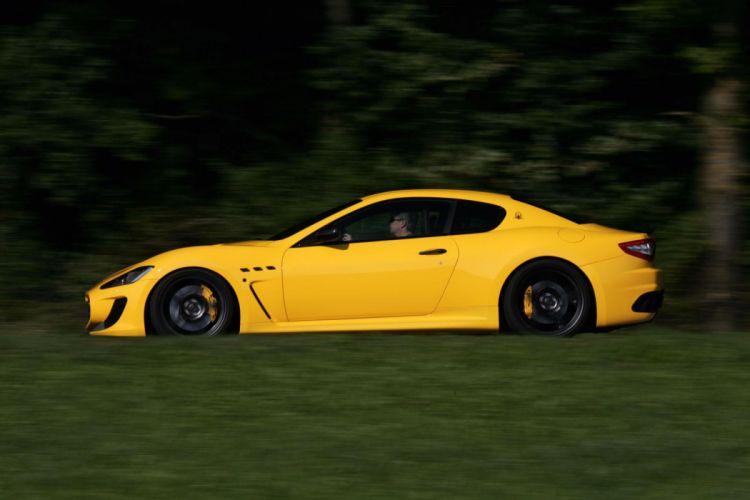 2011 Novitec-Tridente Maserati GranTurismo M-C Stradale tuning supercar supercars t wallpaper