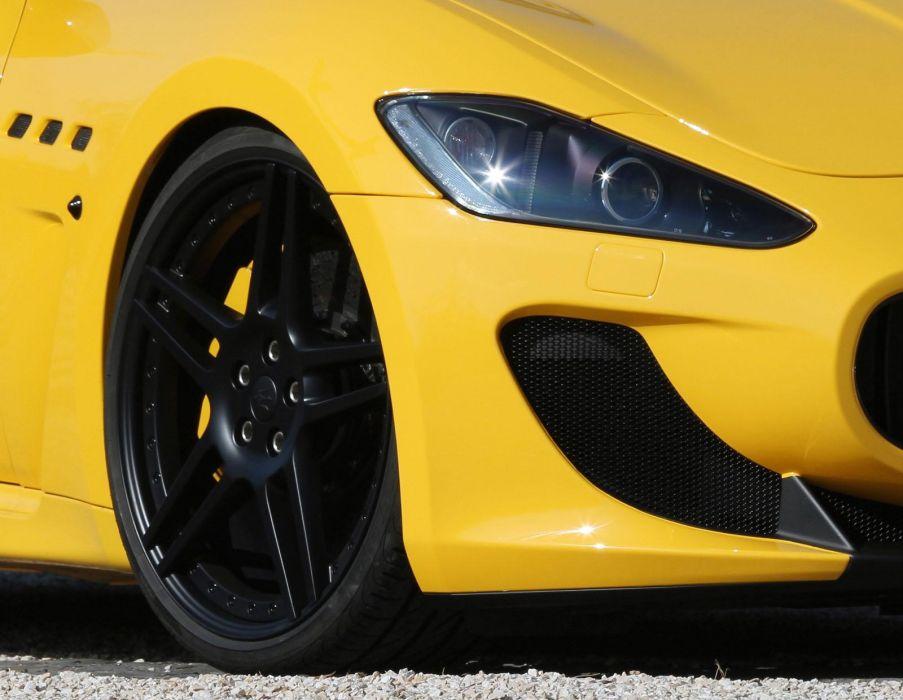 2011 Novitec-Tridente Maserati GranTurismo M-C Stradale tuning supercar supercars wheel wheels  e wallpaper