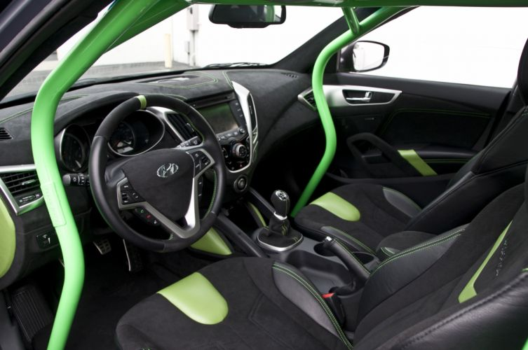2011 Performance-ARK Hyundai Veloster tuning interior wallpaper