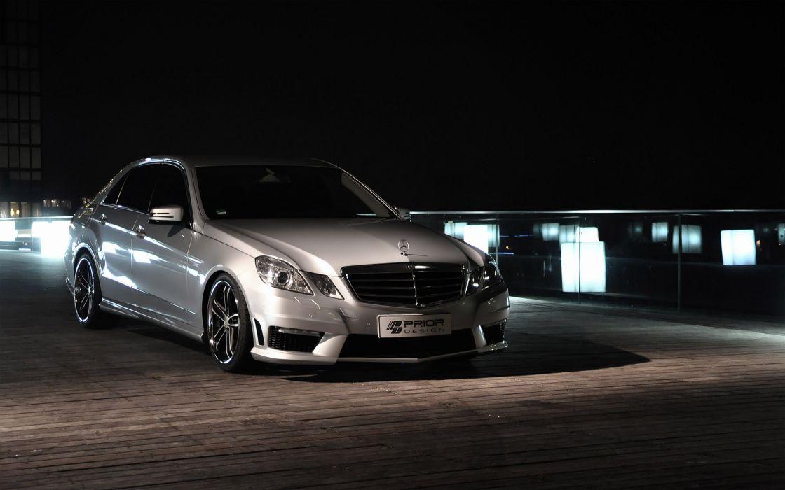 2011 Prior-Design Mercedes Benz E-Class PD500 tuning y wallpaper