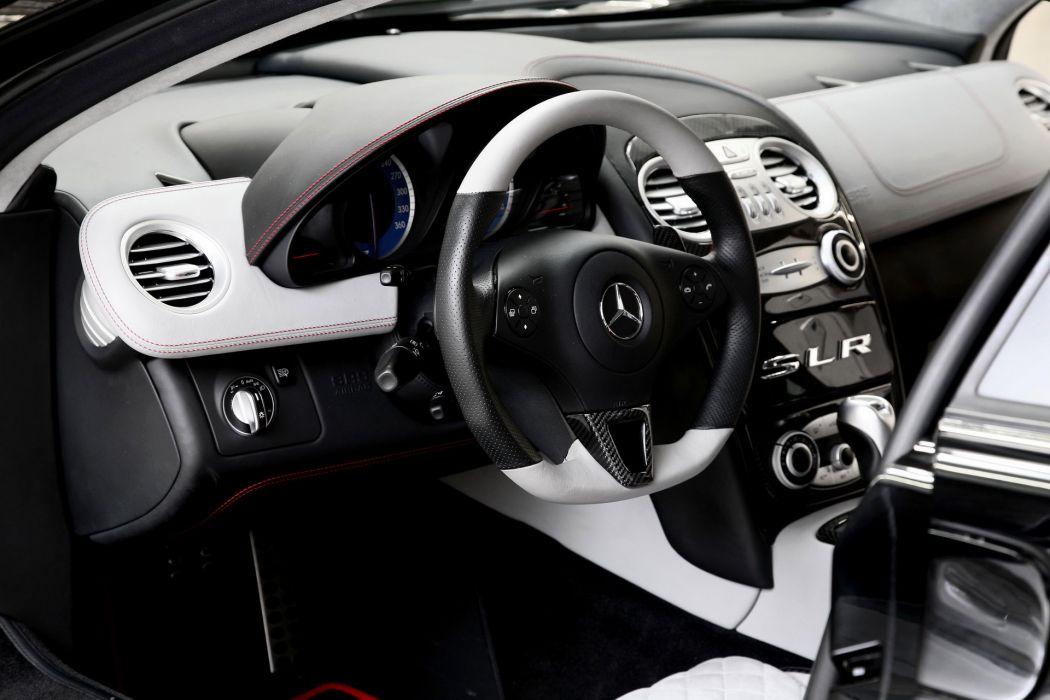 2011 Wheelsandmore Mc-Laren Mercedes Benz SLR 722 Epochal supercar supercars interior wallpaper