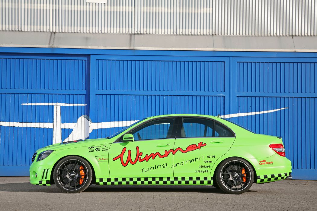 2011 Wimmer-RS Mercedes C63 AMG Eliminator tuning x wallpaper