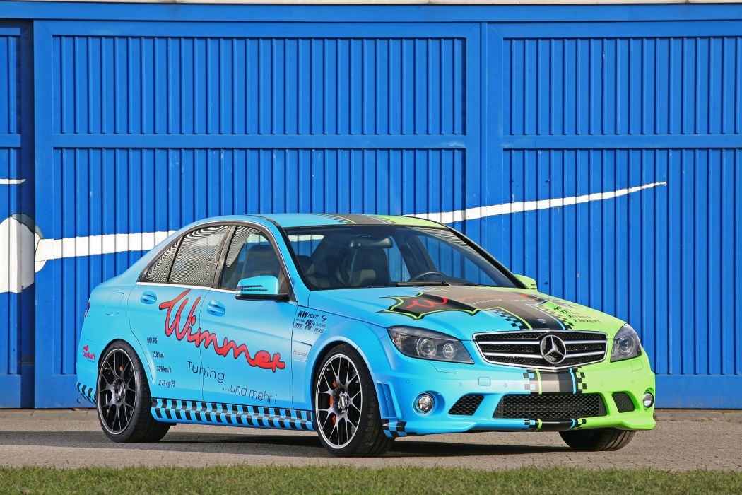 2011 Wimmer-RS Mercedes C63 AMG Eliminator tuning y wallpaper