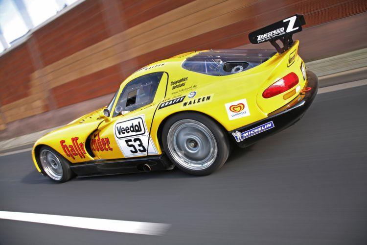 2011 ZAKSPEED Dodge Viper race racing supercar supercars e wallpaper