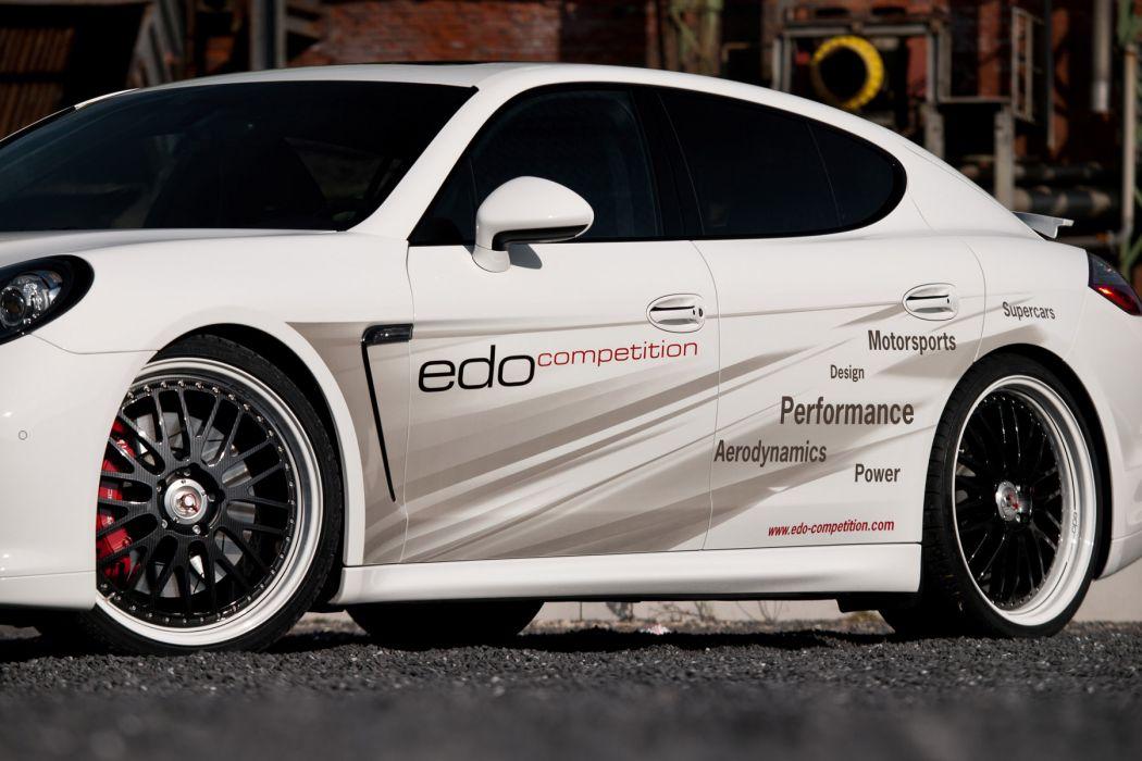 2012 edo-Competition Porsche Panamera Turbo-S turbo tuning wheel wheels wallpaper