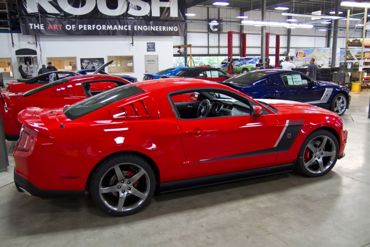 2012 Roush Stage-3 Ford Mustang muscle b wallpaper