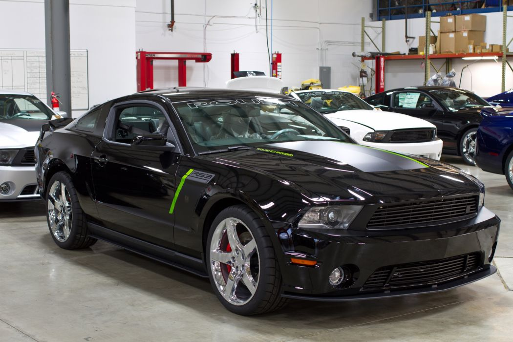 2012 Roush Stage-3 Ford Mustang muscle r wallpaper