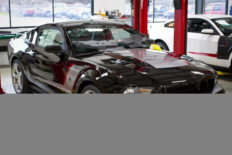 2012 Roush Stage-3 Ford Mustang muscle wallpaper