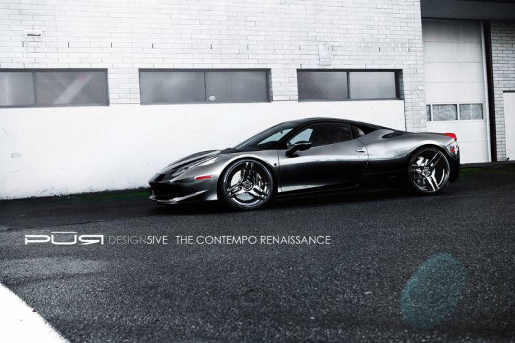 2012 SR-Auto Kiluminati Ferrari 458 supercar supercars q wallpaper