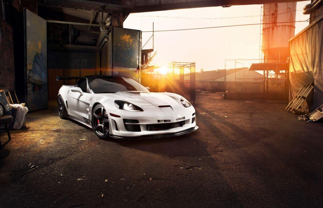 2012 TIKT Corvette C-6 ZR1 supercar supercars wallpaper