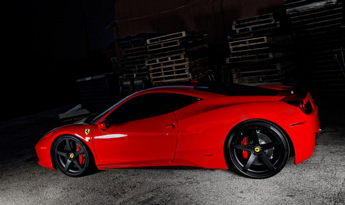 2012 Vorsteiner Ferrari 458 Italia VS-130 supercar supercars     d wallpaper