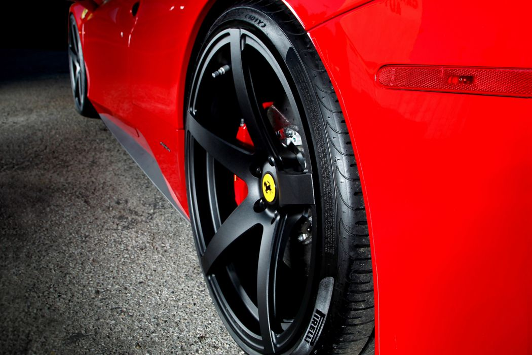 2012 Vorsteiner Ferrari 458 Italia VS-130 supercar supercars wheel wheels wallpaper