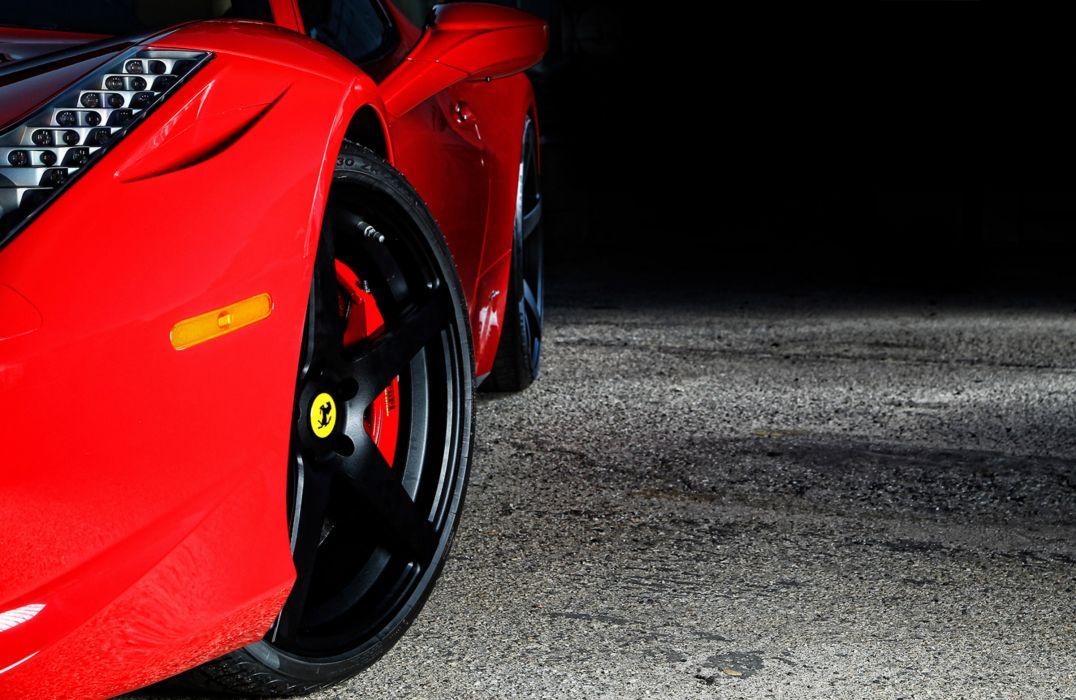 2012 Vorsteiner Ferrari 458 Italia VS-130 supercar supercars wheel wheels  q wallpaper