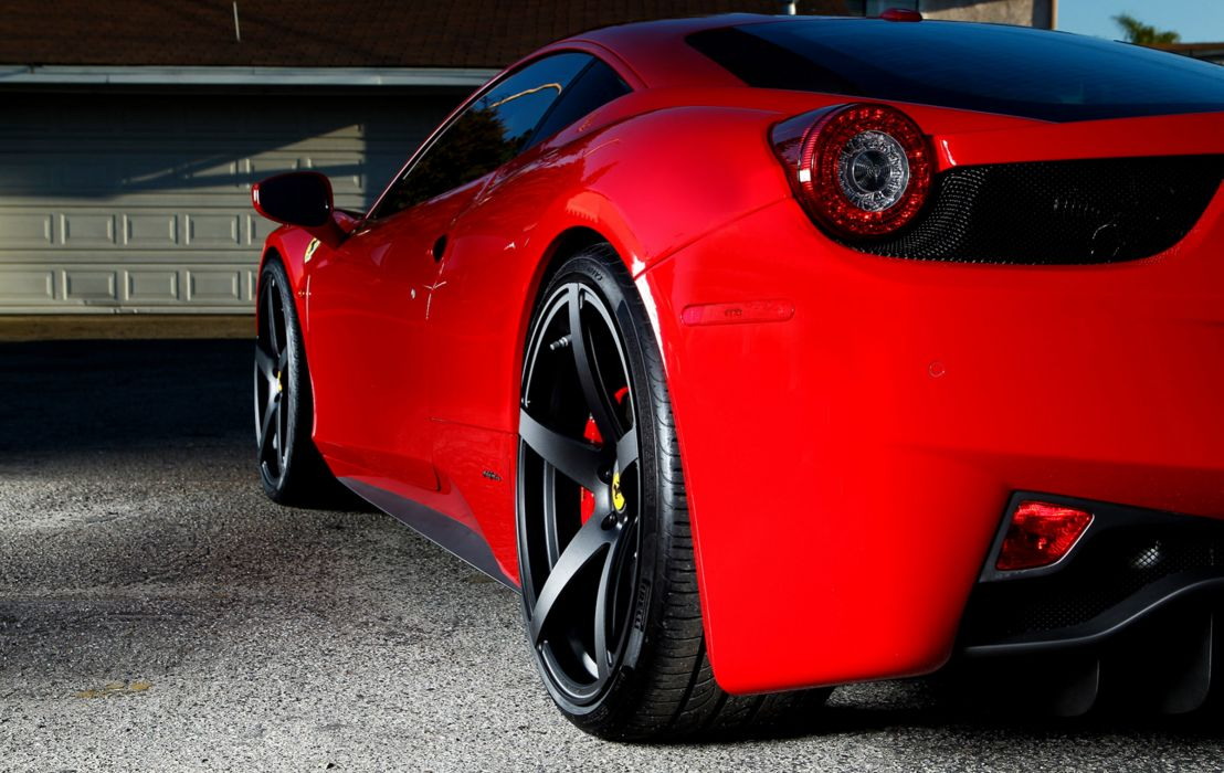 2012 Vorsteiner Ferrari 458 Italia VS-130 supercar supercars wheel wheels  s wallpaper