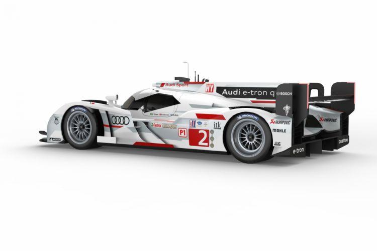 2013 Audi R18 e-tron quattro race racing a wallpaper