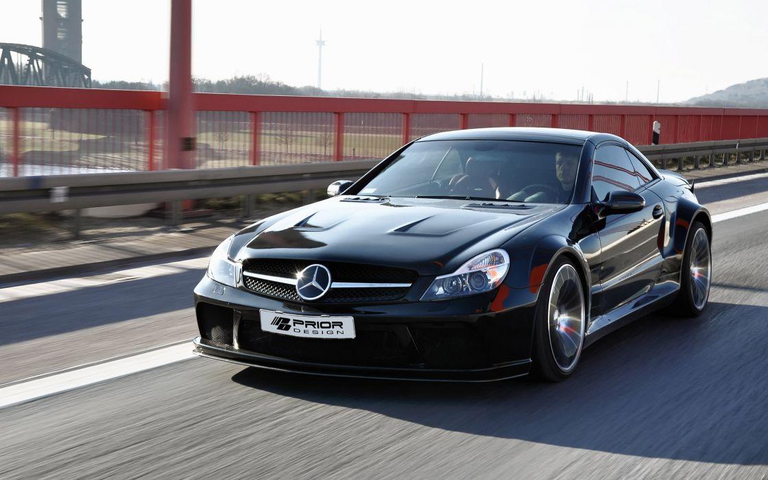 2013 Prior-Desisn Widebody Mercedes Benz S-L tuning h wallpaper