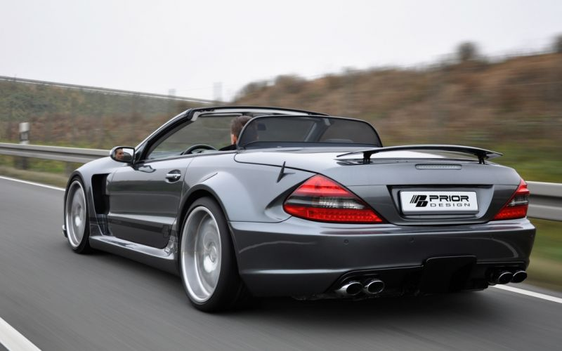 2013 Prior-Desisn Widebody Mercedes Benz S-L tuning w wallpaper