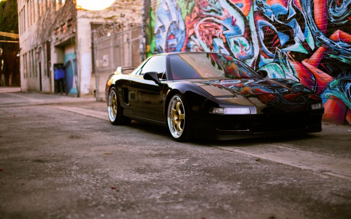 Acura-nsx-japan-concept-luxury-coupe-brands-black wallpaper