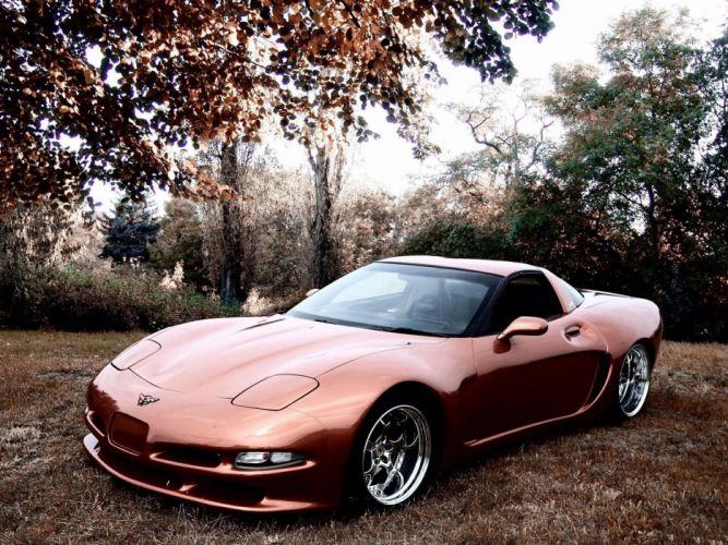 Chevrolet-corvette-c5-america-coupe-front wallpaper