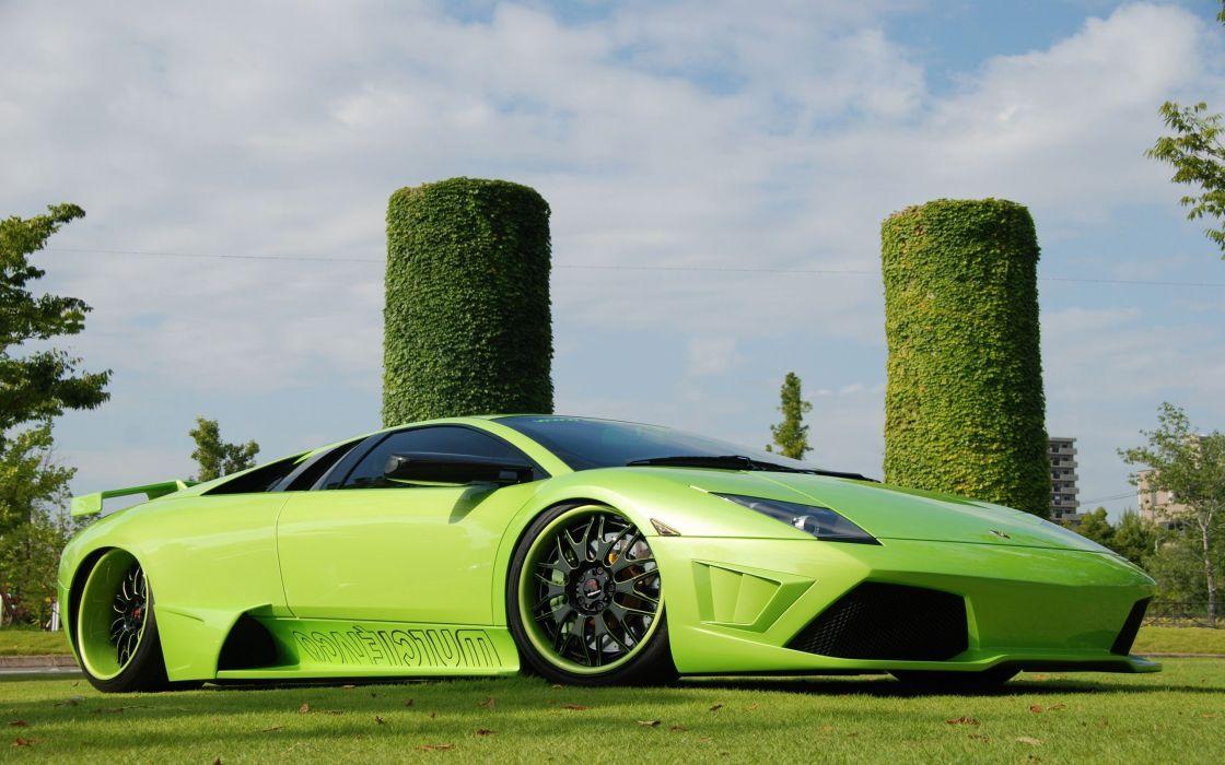 Green-Lamborghini wallpaper