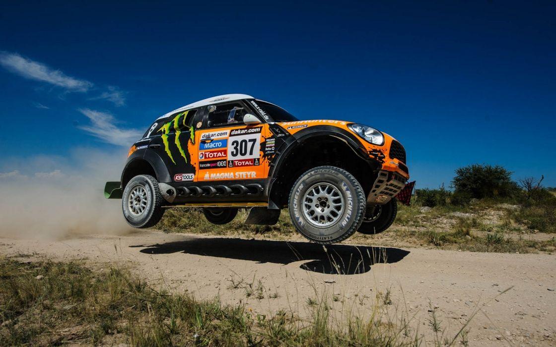 Mini Cooper offroad 4x4 race racing desert extreme wallpaper