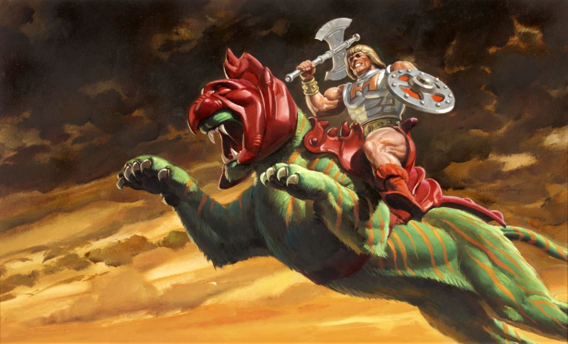 He-man And The Masters Of The Universe comics      k wallpaper
