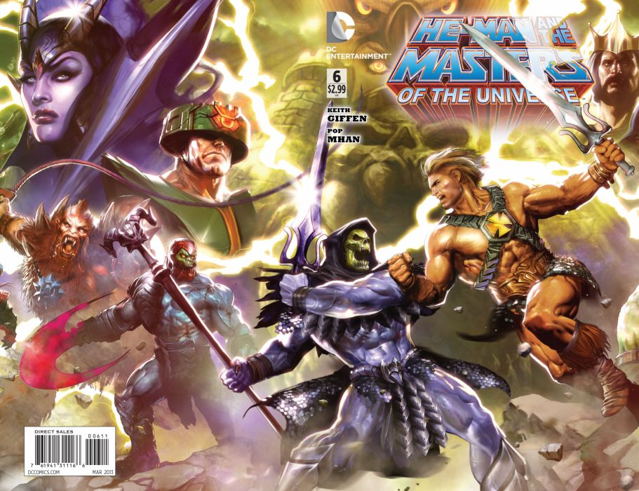 He Man And The Masters Of Universe Comics W Wallpaper