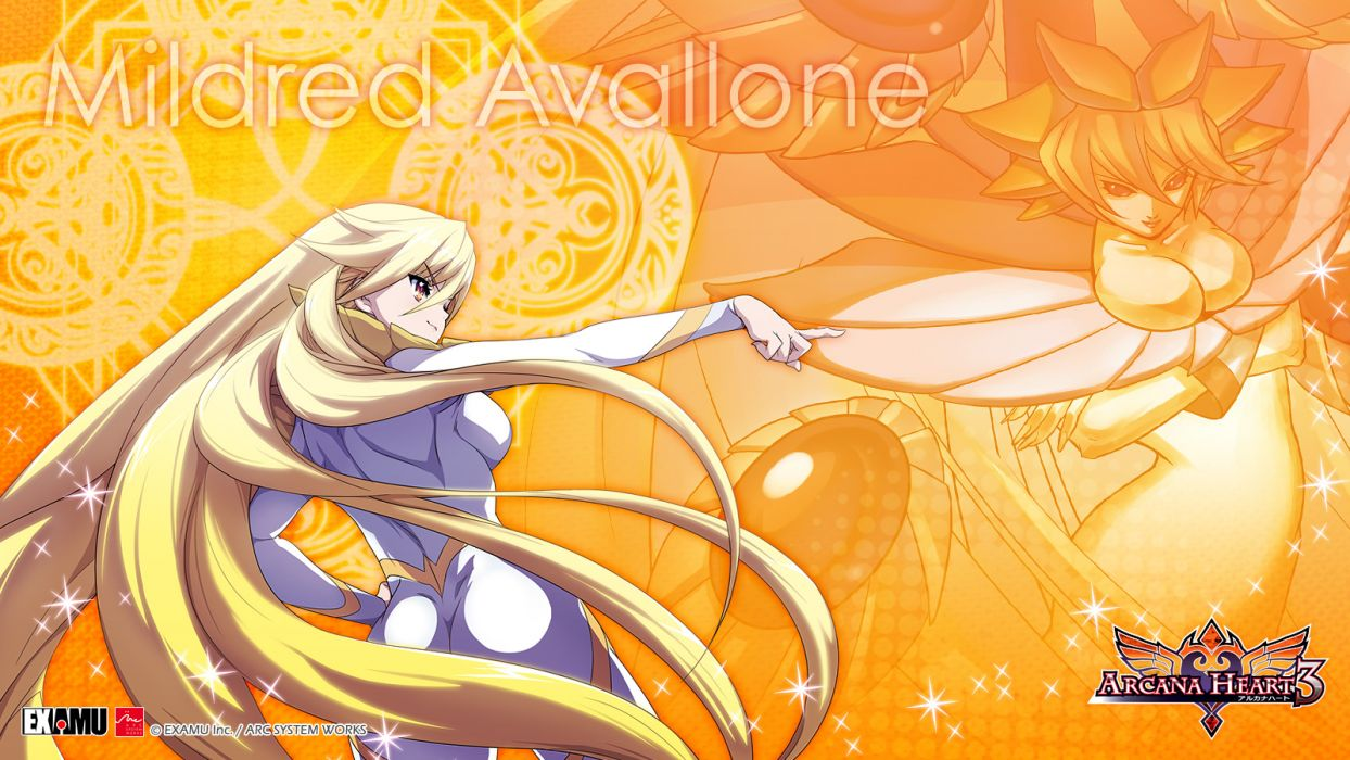 arcana heart bodysuit mildred avallone tagme wallpaper