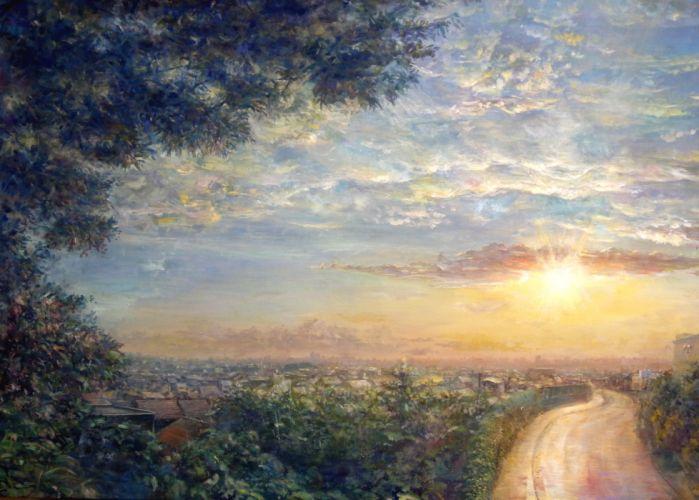 heriki landscape original scenic wallpaper