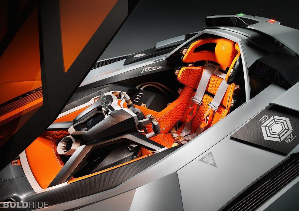 2013 Lamborghini Egoista Concept Supercar Supercars Interior I