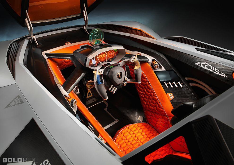 2013 Lamborghini Egoista Concept supercar supercars interior  y wallpaper