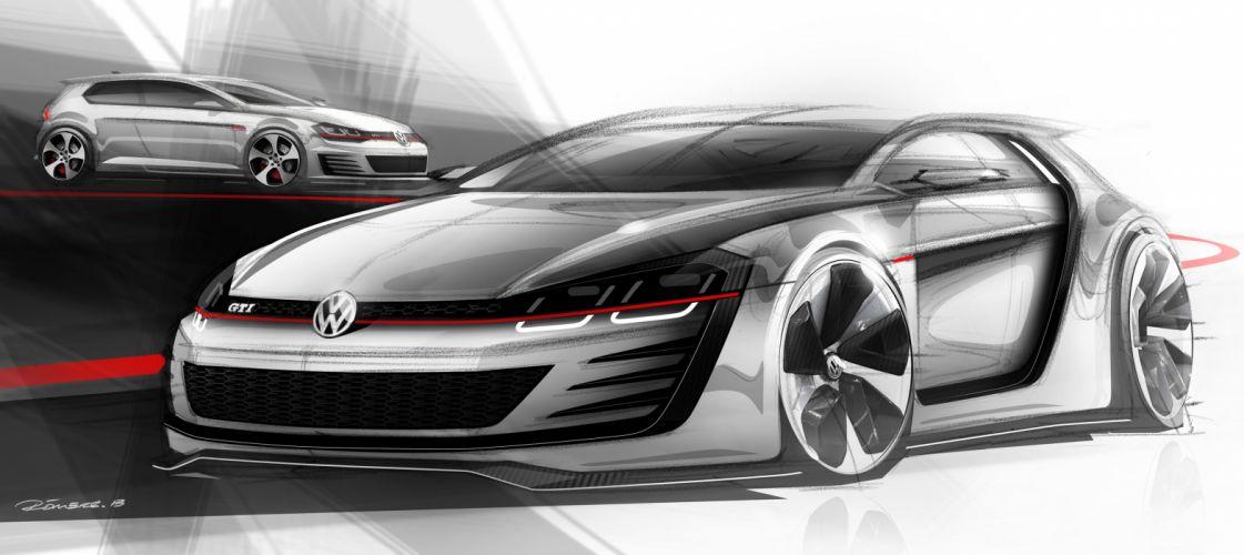 2013 Volkswagen Design-Vision GTI Concept tuning wallpaper