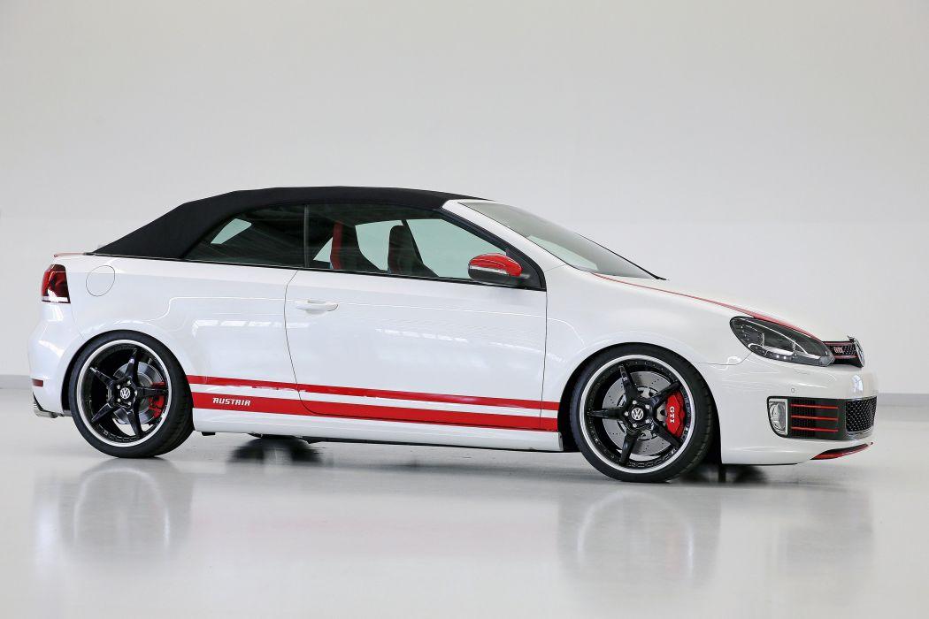 2013 Volkswagen Golf GTI Cabrio Austria Concept tuning q wallpaper