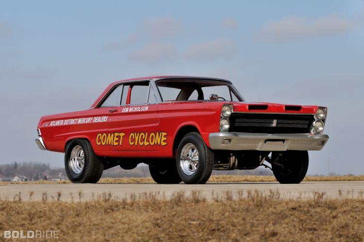 1965 Mercury Comet 427 SOHC A-FX Super Cyclone hot rod rods muscle drag racing race classic wallpaper