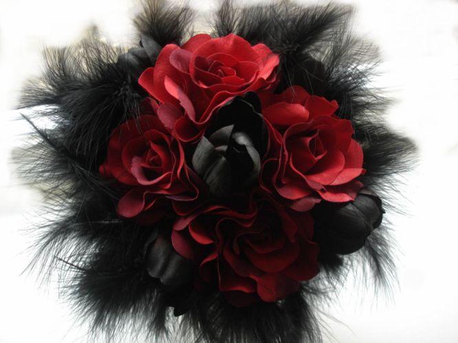 gothic roses dark flowers wallpaper