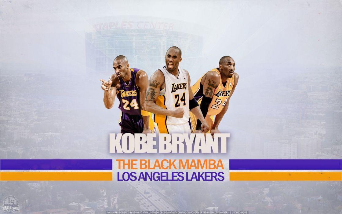 legend nba basketball kobe bryant los angeles lakers wallpaper