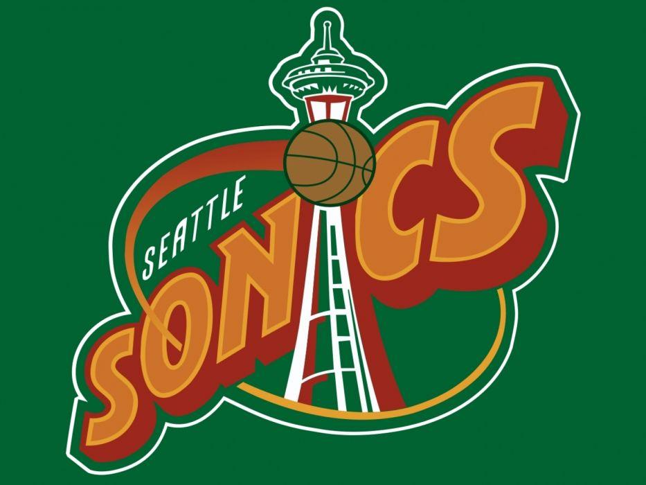 nba basketball baskets seattle supersonics wallpaper