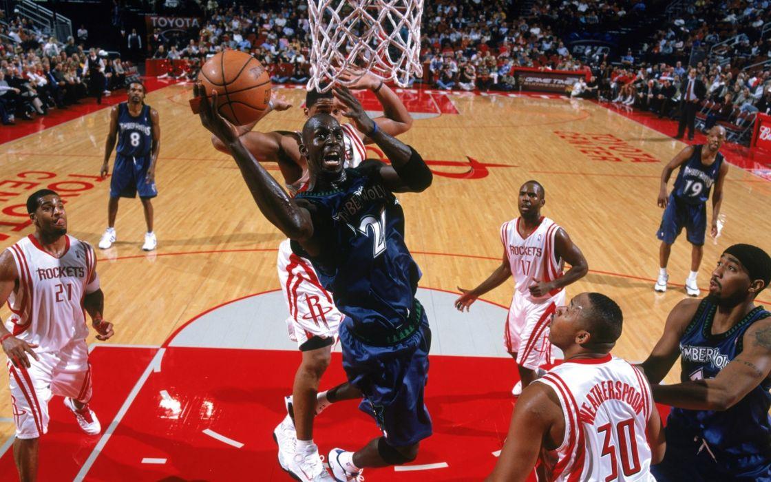 nba basketball kevin garnett minnesota timberwolves wallpaper