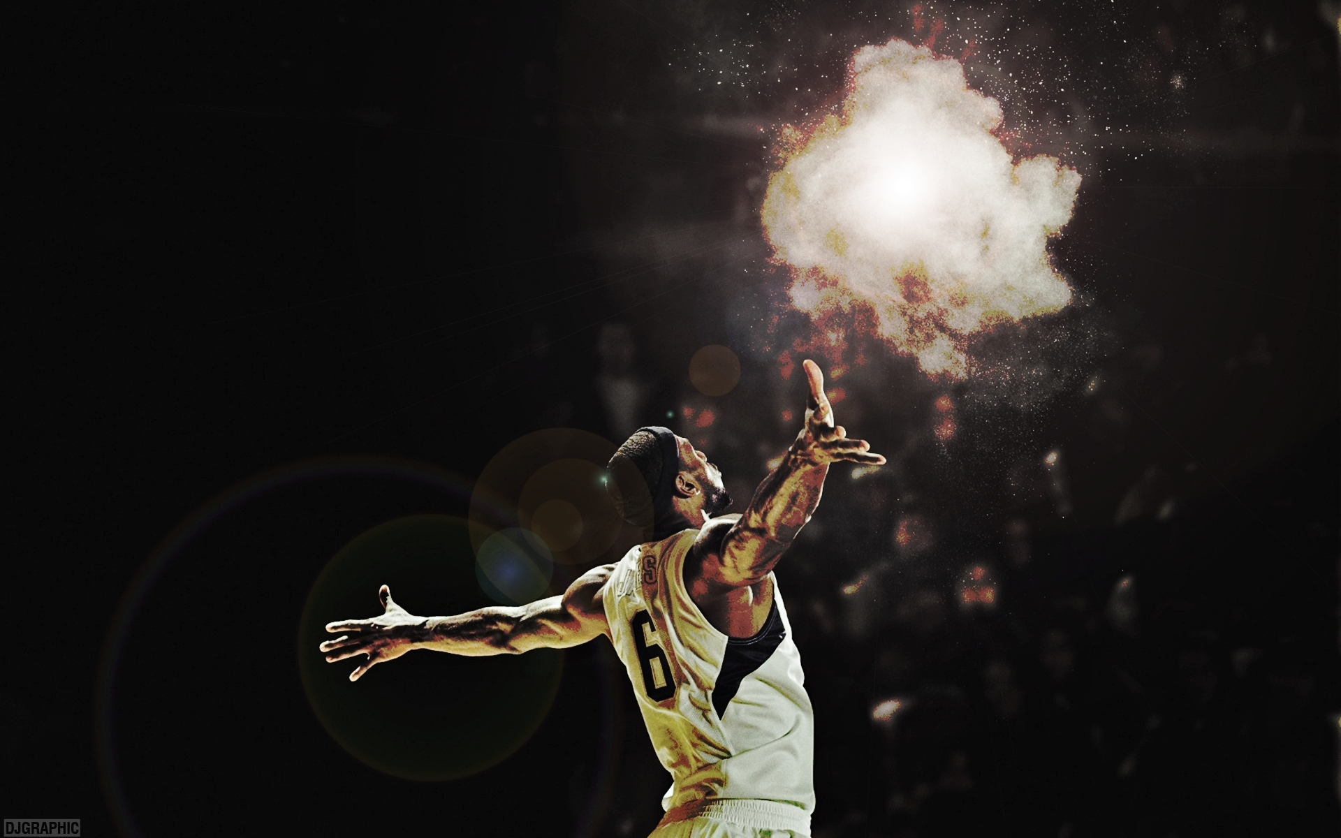 Nba Basketball Lebron James Miami Heat Wallpaper 1920x1200