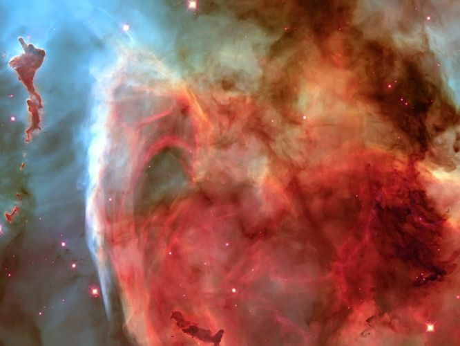 outer space red galaxies nebulae nebula wallpaper