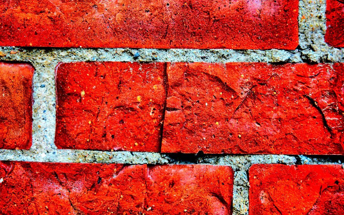 pattern brick bricks texture abstract red bokeh wallpaper