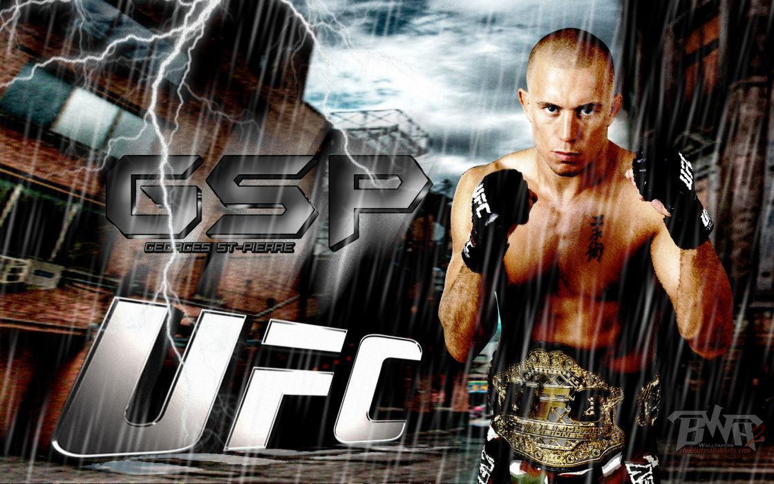 pierre UFC mixed martial arts mma fight extreme wallpaper